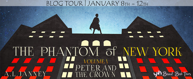The Phantom of New York tour banner NEW
