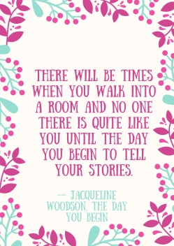 The Day You Begin Quotes