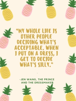 The Prince and The Dressmaker Quotes